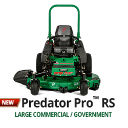 Predator Pro RS zero turn ride-on mower