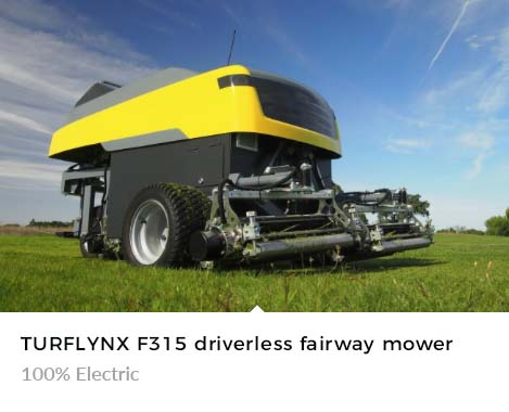 100% Electric Turflynx Autonomous mower