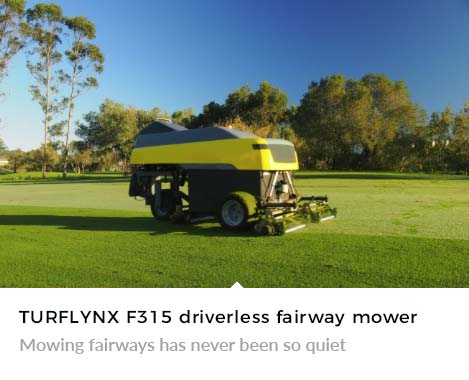 Mowing fairways has never been so quiet