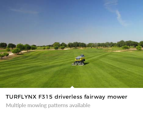 Multiple mowing patterns available