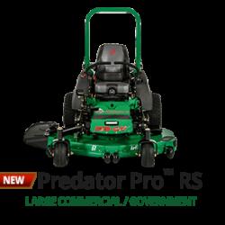 Predator Pro RS zero turn ride-on mower