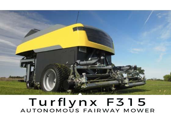 Turflynx Autonomous Mower Hero Shot