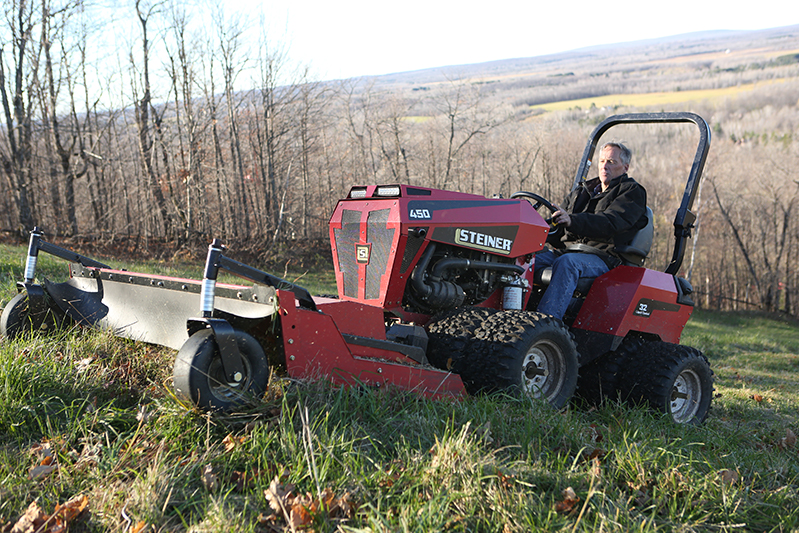 Steiner Tractor - 450 Tractor - SME Specialised Mowing Equipment